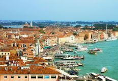Italy. Venice top view Royalty Free Stock Image