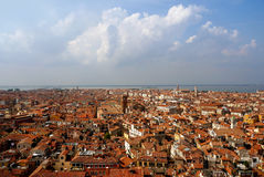 Italy. Venice.  Top view Royalty Free Stock Photography