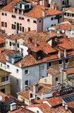 Italy. Venice.  Top view on roofs Stock Photos