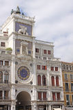 Italy. Venice - The Torre dell Orologio - St Mark's Clocktower Stock Image