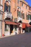 Italy. Venice. Veiw of city. Hotel Stock Photos