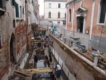 Italy. Venice. View of city. chanels repair Royalty Free Stock Photo