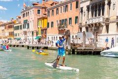 Italy. Venice. Vogalonga Regatta. Stock Photography
