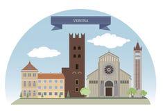 italy verona stock illustrationer