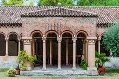 Italy, Verona, Saint Zeno cathdrale outside Royalty Free Stock Photography