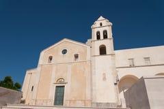 Italy, Vieste, church of saint francis Stock Photos