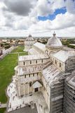 Cathedral of Pisa. The Piazza dei Miracoli Piazza del Duomo. I Royalty Free Stock Image