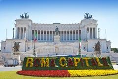 italy vittoriano Rome Zdjęcie Stock