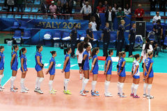 Italy volley women Stock Photo