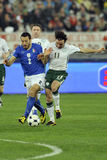 Italy vs Ireland FIFA world cup Royalty Free Stock Images