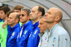 Italy vs Switzerland - FIFA Under 20 Royalty Free Stock Images