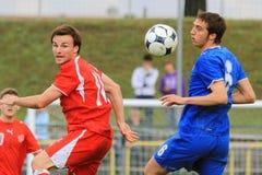 Italy vs Switzerland - FIFA Under 20 Royalty Free Stock Photos