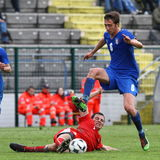 Italy vs Switzerland - FIFA Under 20 Royalty Free Stock Photos