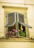 Italy window Royalty Free Stock Photo