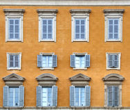 Italy - windows composition stock photo