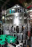 Italy wine: automatic bottling line Stock Image