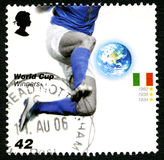 Italy World Cup Winners UK Postage Stamp Stock Photography
