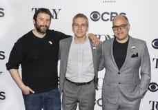 Itamar Moses, David Cromer och David Yazbek Fotografering för Bildbyråer