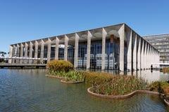 Itamaraty die Brasilia bouwt Royalty-vrije Stock Foto