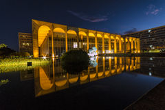 Itamaraty pałac DF - Brazylia - brasÃlia - obrazy royalty free