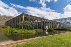 Itamaraty Palace - Brasí­lia - DF - Brazil Stock Photos