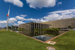 Itamaraty Palace - Brasília - DF - Brazil Royalty Free Stock Images