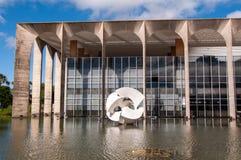 Itamaraty Palace in Brasilia Royalty Free Stock Images