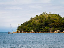 Itaoca-Insel stockbilder
