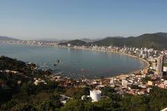 Itapema - Santa Catarina - Brazil. Beautiful beach in southern brazil Royalty Free Stock Images