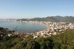 Itapema - Santa Catarina - Brazil. Beautiful beach in southern brazil Royalty Free Stock Photo