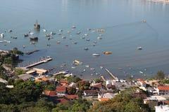 Itapema - Santa Catarina - Brazil. Beautiful beach in southern brazil Royalty Free Stock Photography