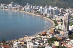 Itapema - Santa Catarina - Brazil. Beautiful beach in southern brazil Stock Photos