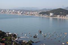 Itapema - Santa Catarina - Brazil. Beautiful beach in southern brazil Stock Photo