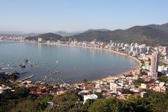 Itapema - Santa Catarina - il Brasile Fotografie Stock
