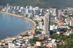 Itapema - Santa Catarina - il Brasile Fotografia Stock Libera da Diritti