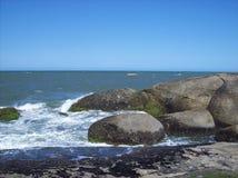Itapoa,圣卡塔琳娜州,巴西海滩  库存照片