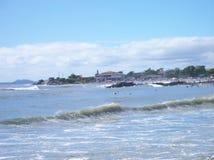 Itapoa,圣卡塔琳娜州 在巴西南部 库存照片