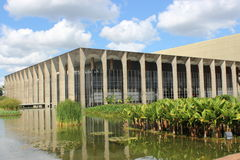 Itarmaraty Palace. Oscar Niemeyer - Itamaraty Palace (1962 Stock Photography