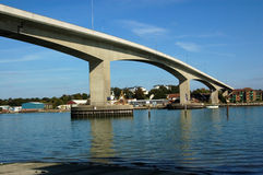 Itchen Bridge, Southampton Royalty Free Stock Photo
