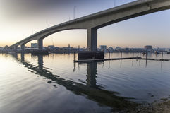 The Itchen Bridge Southampton Stock Image