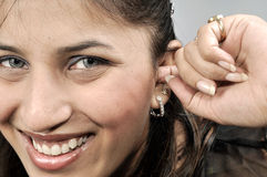 Itching In Ears Stock Photography