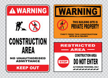 Ite safety sign or construction safety Royalty Free Stock Photo
