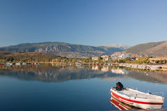 Itea, Grecia Fotografia Stock Libera da Diritti