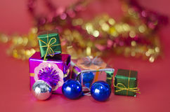 Item decorate for christmas tree Stock Photo