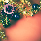 Item decorate for christmas tree Royalty Free Stock Image