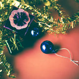 Item decorate for christmas tree Stock Photos