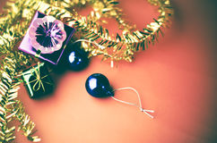 Item decorate for christmas tree Royalty Free Stock Photos