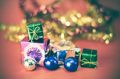 Item decorate for christmas tree Royalty Free Stock Photography