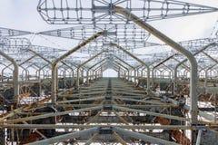 Item radioradara DUGA near Chernobyl. royalty free stock photography