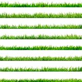 8 item set, small Grass. EPS 10. 8 item set, small Grass isolated on white. And also includes EPS 10 vector Stock Images